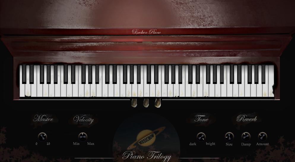 Piano VST collection (VSTi) | Musicrow Piano Trilogy