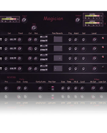 Magician special delay for Reaktor