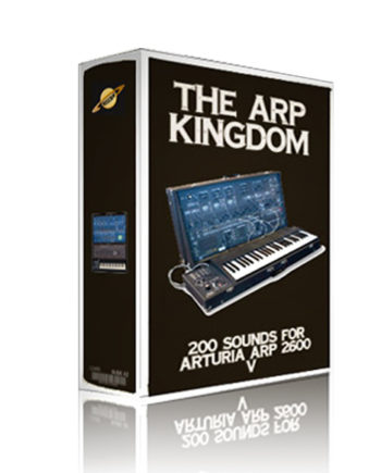Preset bank for arturia arp 2600