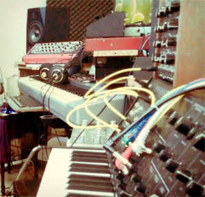synthesizer at musicrow studio