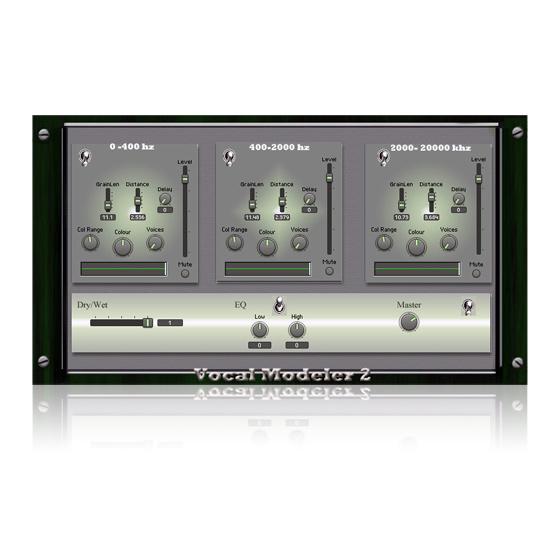 vocal modeler reaktor ensemble