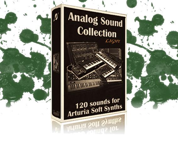 Sounds for Arturia